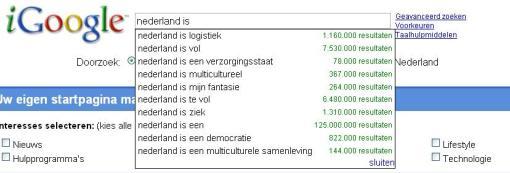 Nederland is .....